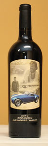 Carroll Shelby 50th Anniversary - 2010 Zinfandel